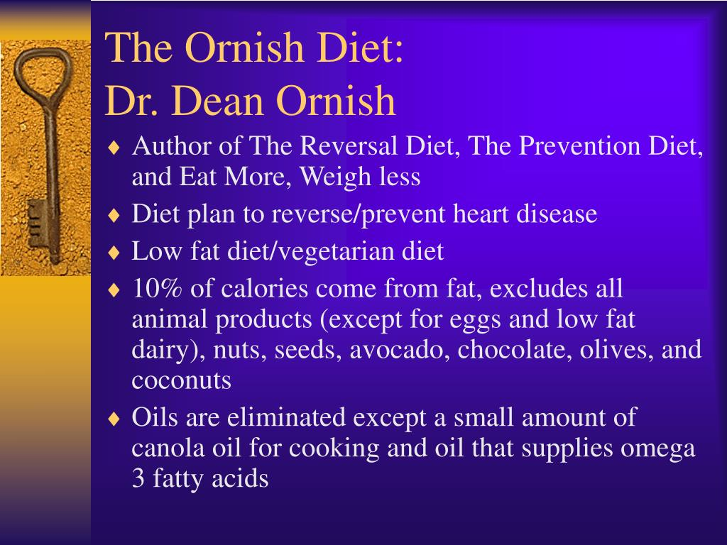 The Ornish Diet: