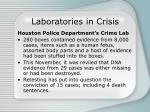laboratories in crisis