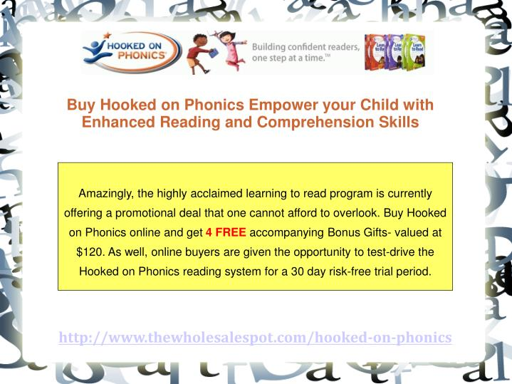 Buy Hooked on Phonics Empower your Child with Enhanced Reading and Comprehension Skills