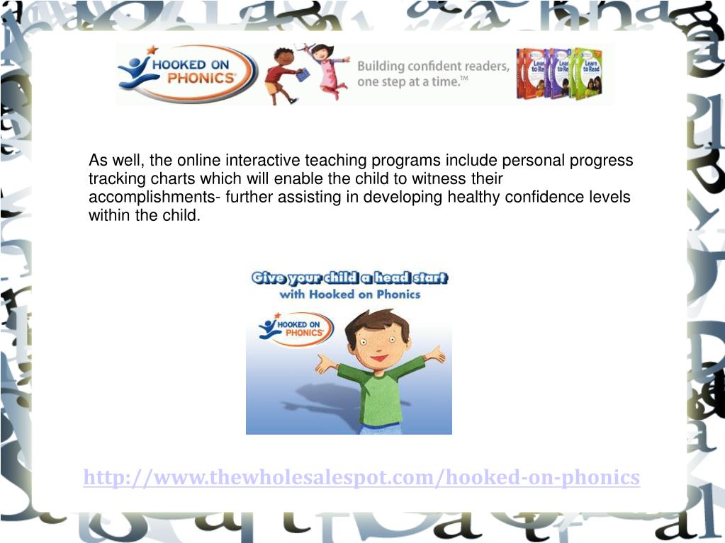 As well, the online interactive teaching programs include personal progress tracking charts which will enable the child to witness their accomplishments- further assisting in developing healthy confidence levels within the child.