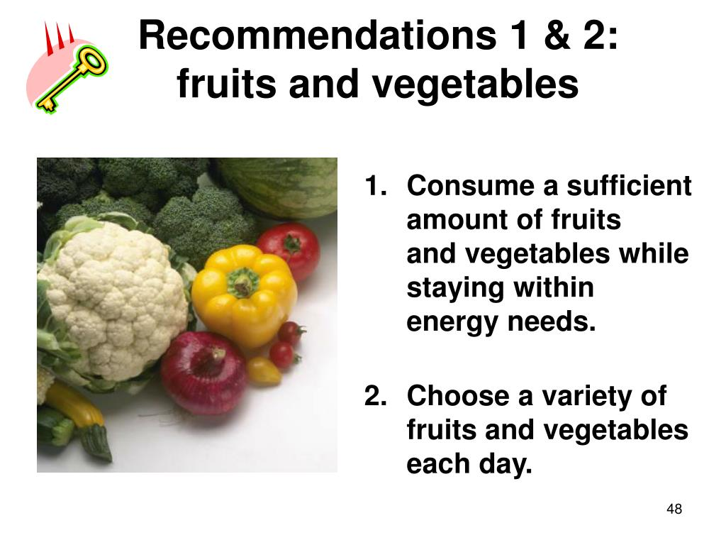 Recommendations 1 & 2: