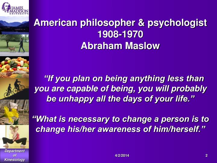 American philosopher & psychologist