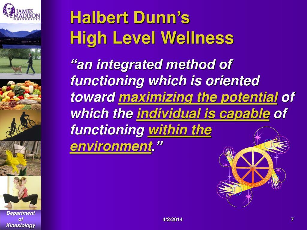 Halbert Dunn's