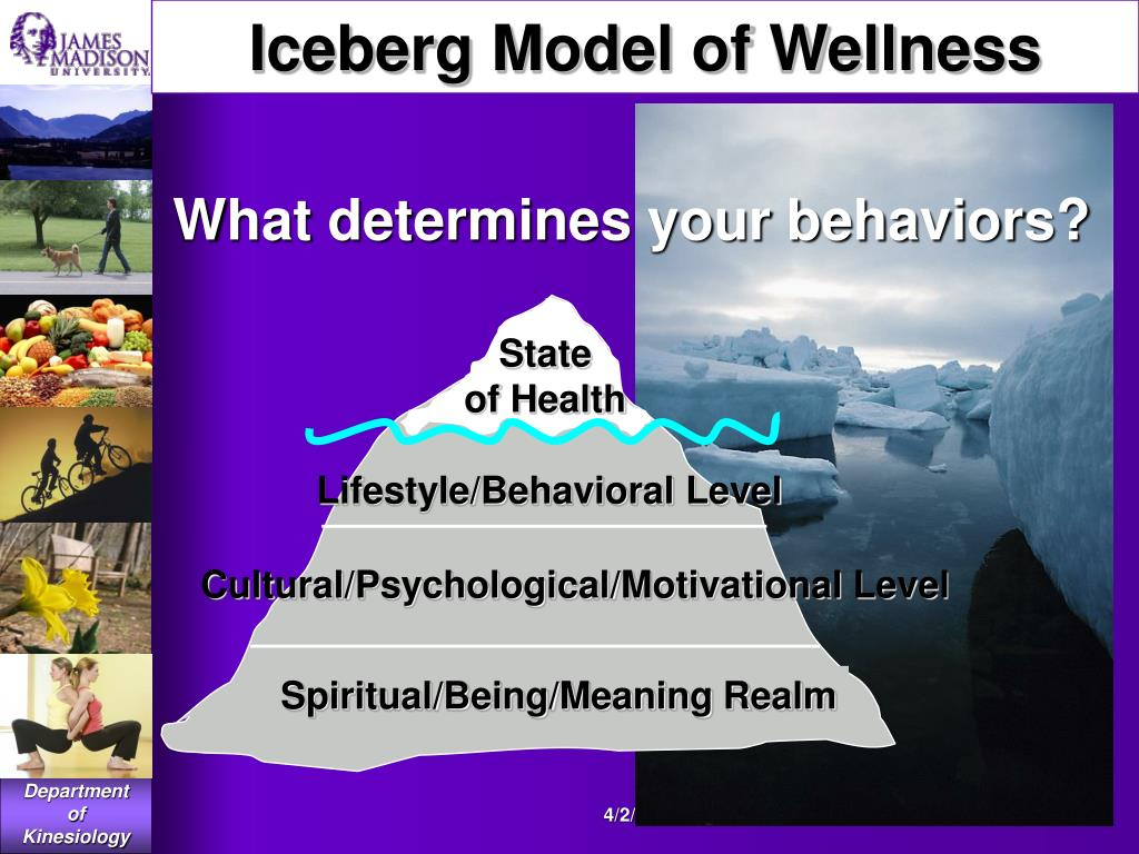Iceberg Model of Wellness