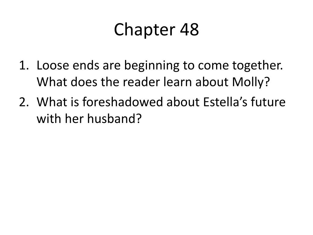 Great expectations chapter 47