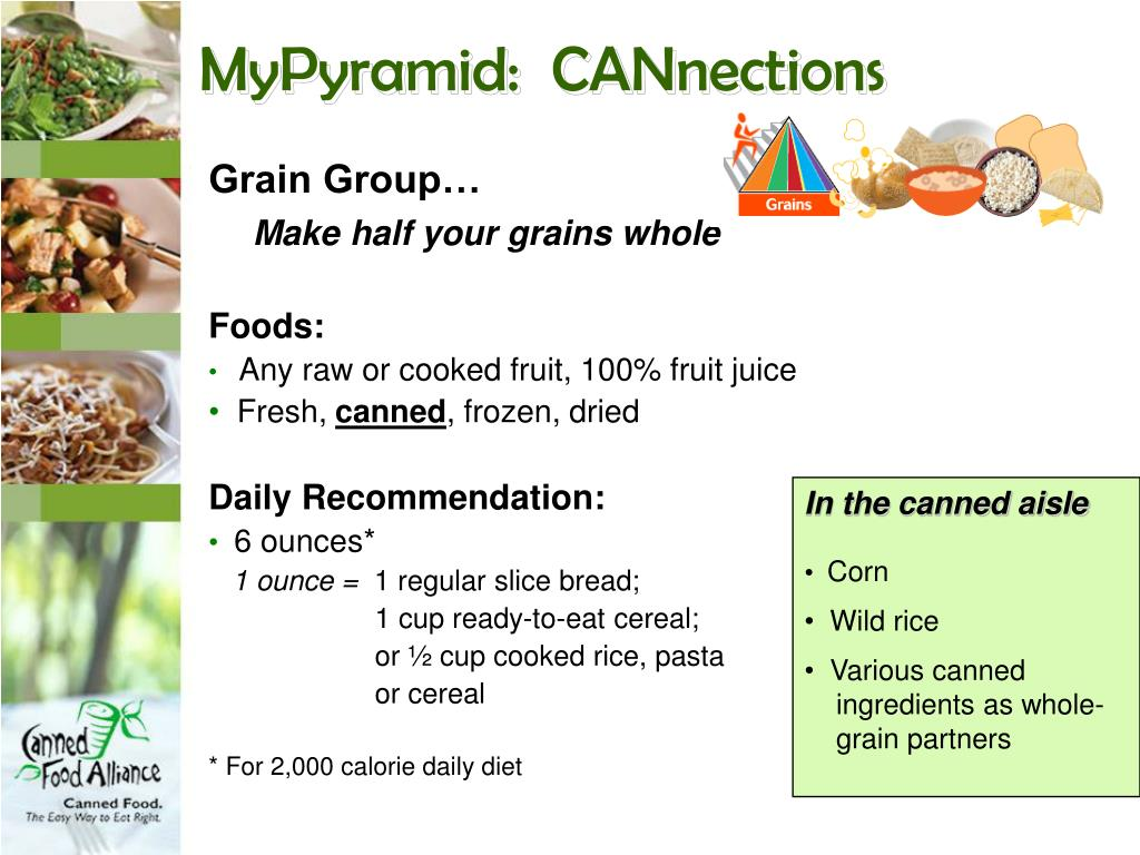 MyPyramid:  CANnections