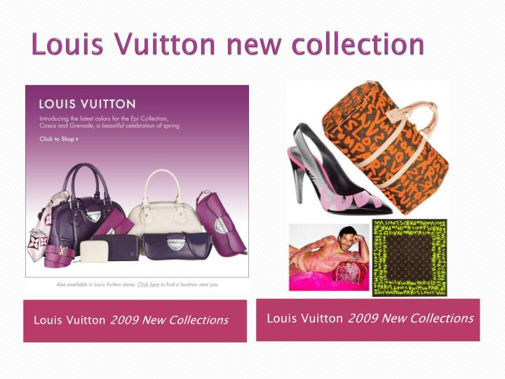 Louis vuitton new collection