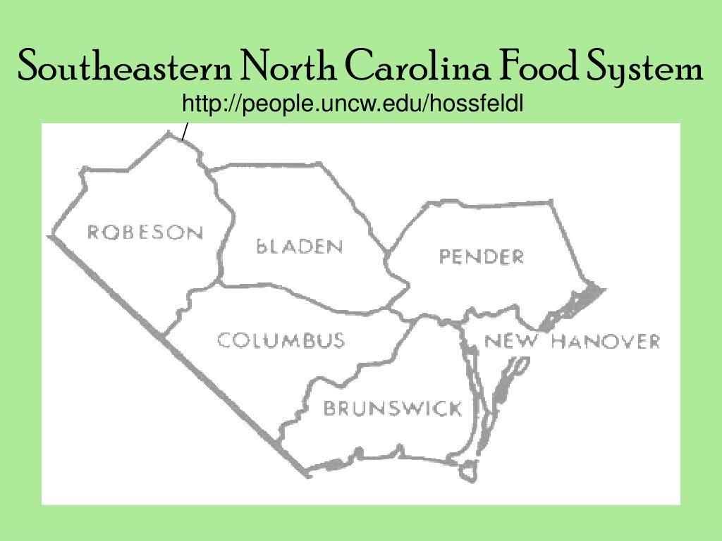Southeastern North Carolina Food System
