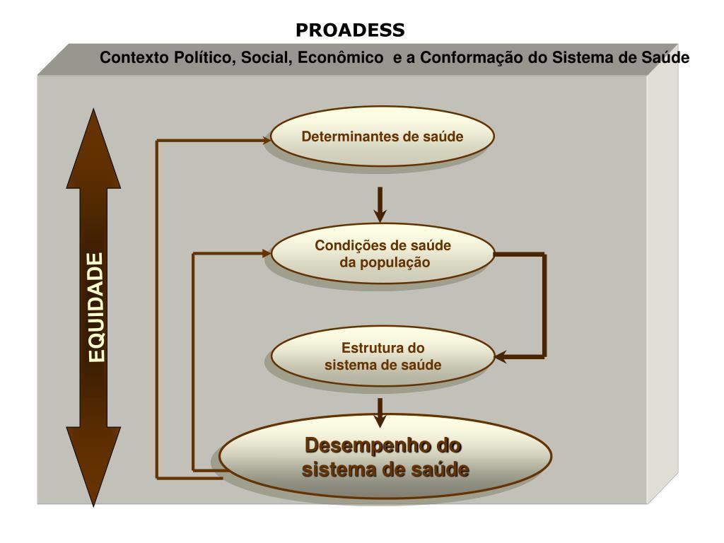 Contexto Político, Social, Econômico  e a Conformação do Sistema de Saúde