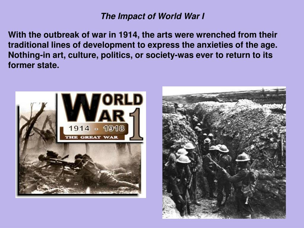 the effects of the world war i outbreak At the world economic forum in davos in february 2014, japanese prime minister shinzo abe speculated that the sino-japanese territorial disputes over tiny rocky islands in the east china sea might be analogous to the various crises that led to the outbreak of the first world war german finance.