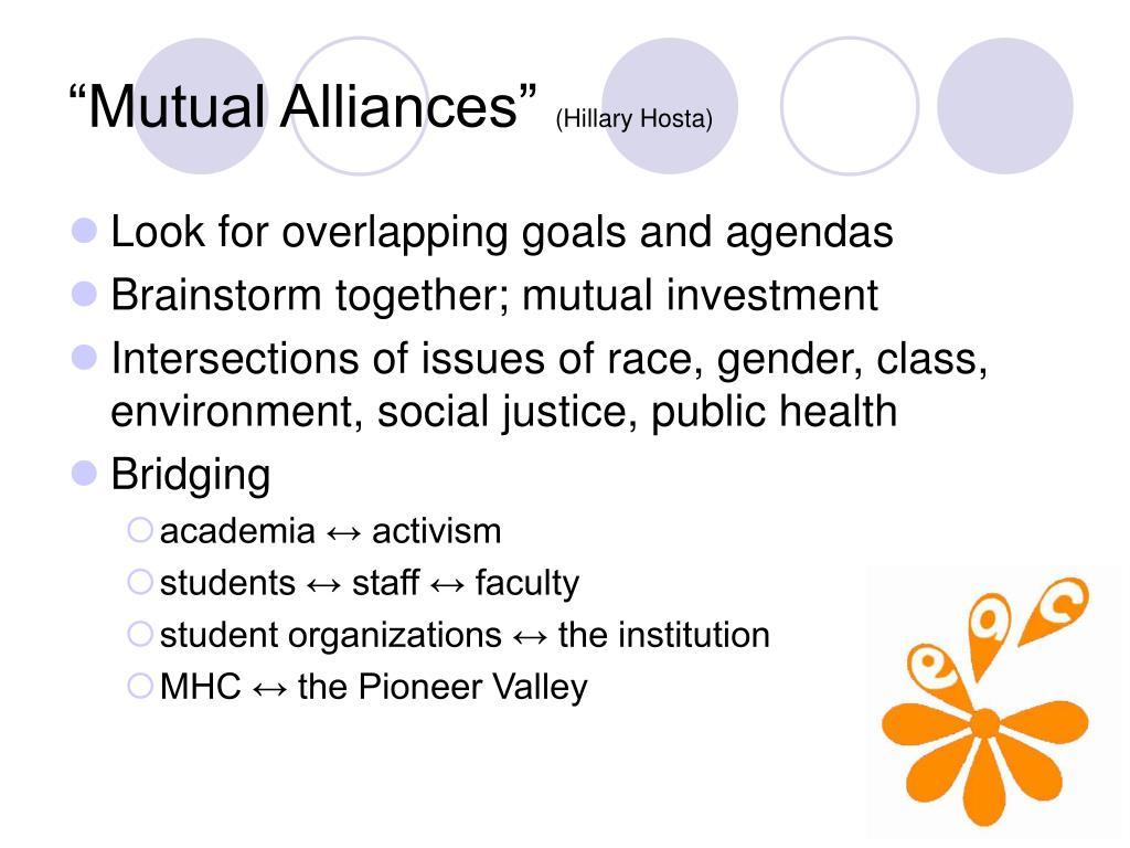 """Mutual Alliances"""