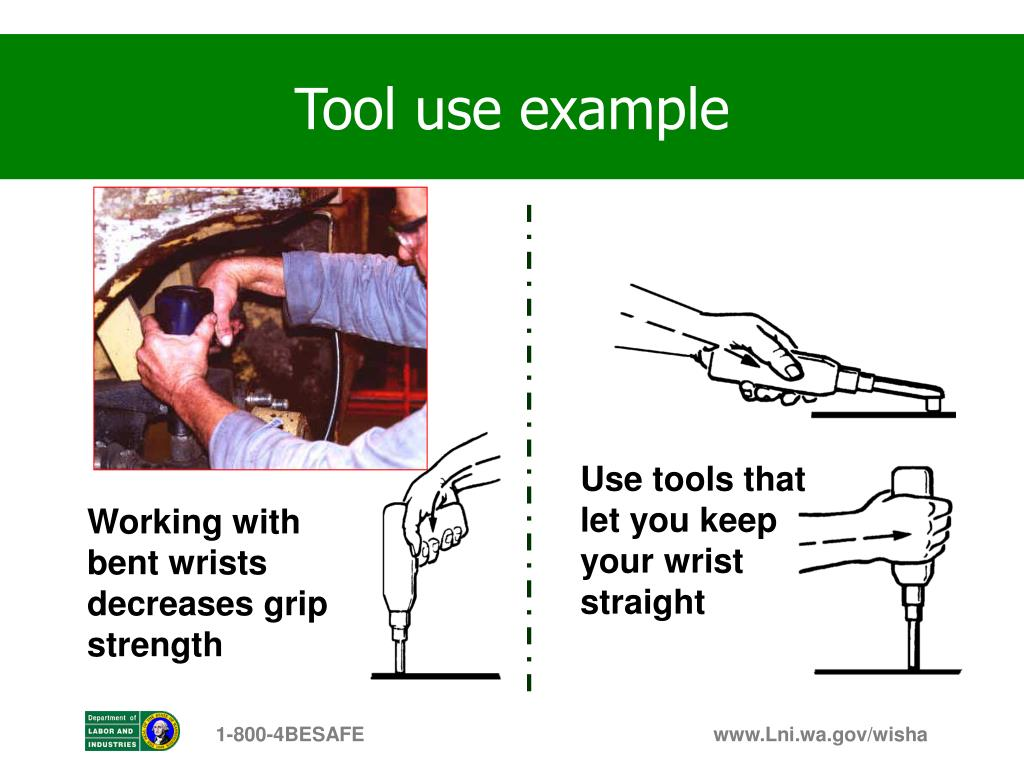 Tool use example
