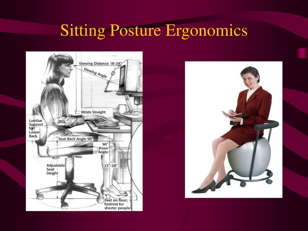 Sitting Posture Ergonomics