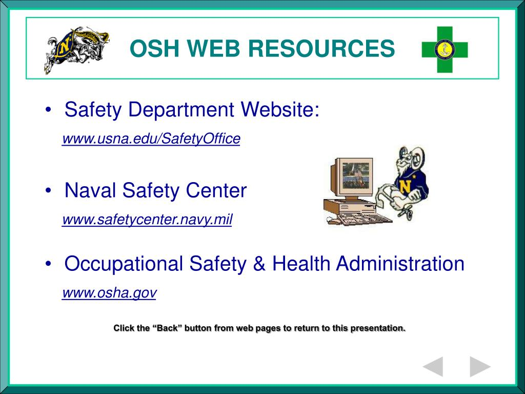 OSH WEB RESOURCES