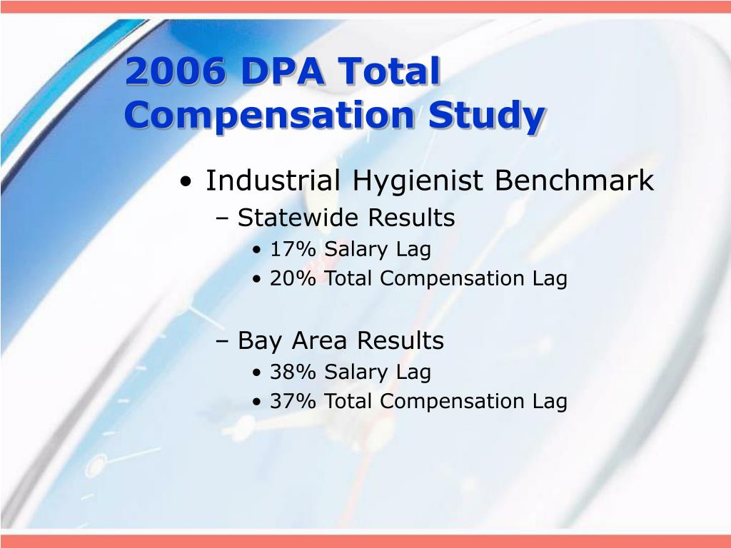 2006 DPA Total Compensation Study