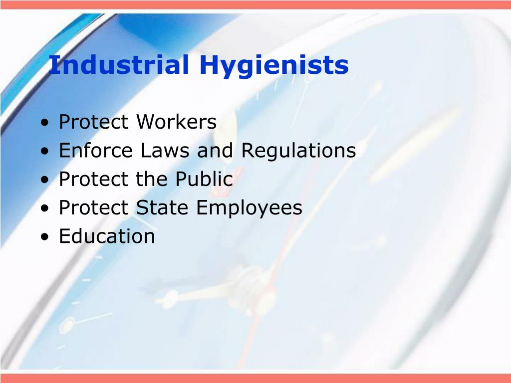 Industrial Hygienists
