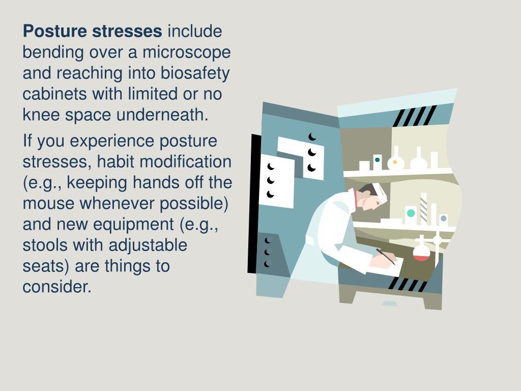 Posture stresses