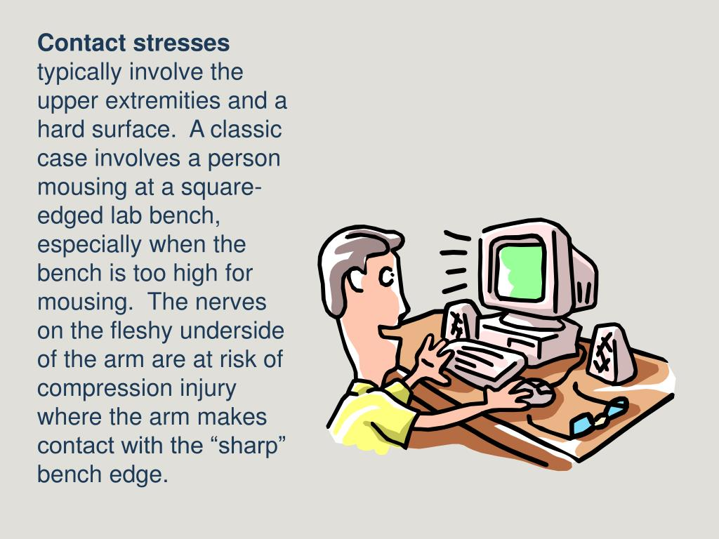 Contact stresses
