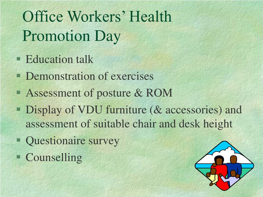 Office Workers' Health Promotion Day