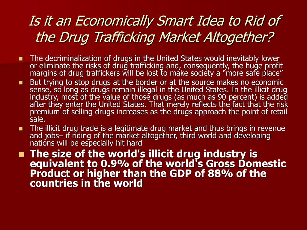 how drug trafficking effects the united Last month, mr reyes gave a speech at the united nations in new york in which he called for new approaches to the drug problem, advocating the decriminalization of drug use.