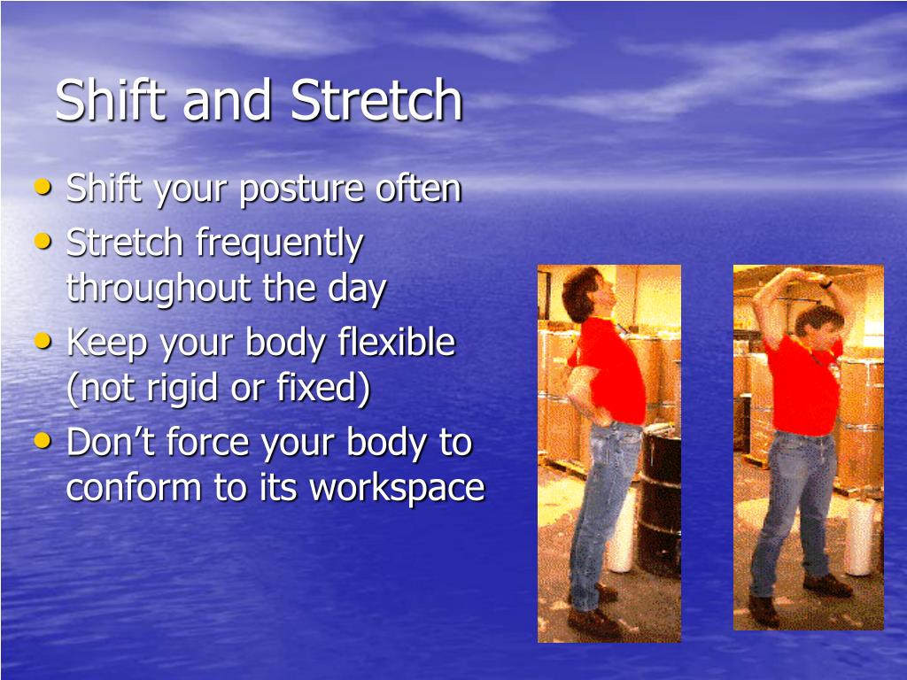 Shift and Stretch