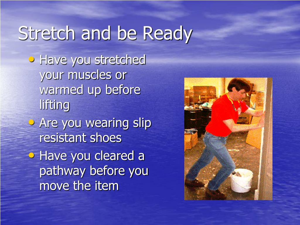 Stretch and be Ready