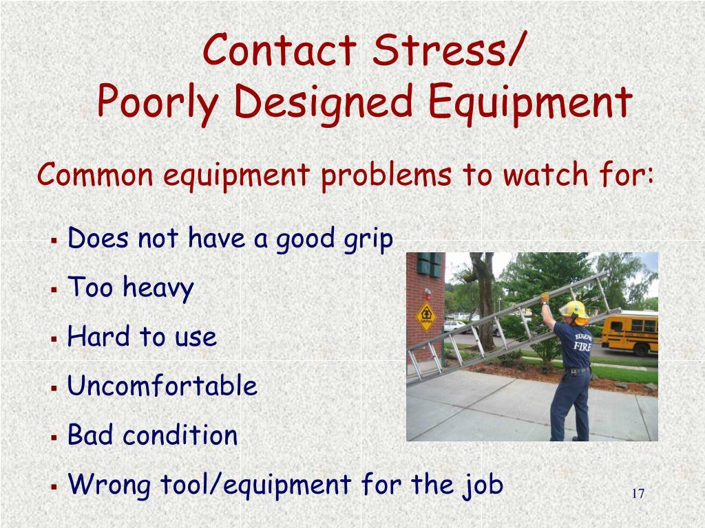 Contact Stress/