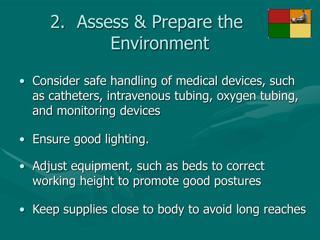 Assess & Prepare the Environment