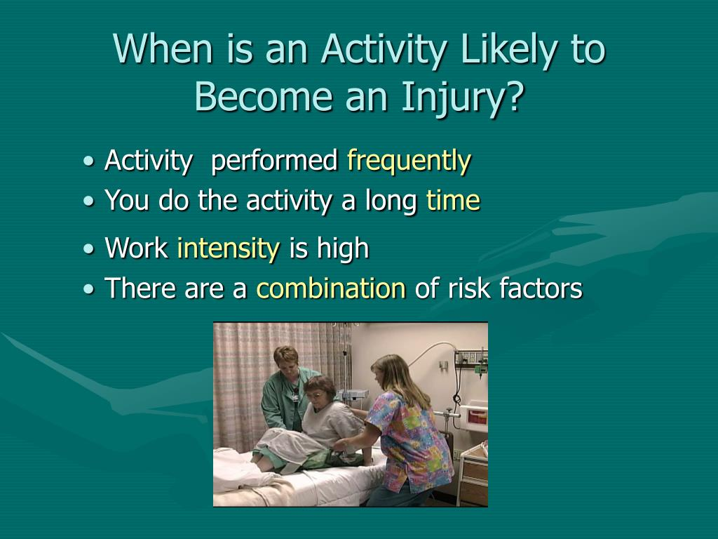 When is an Activity Likely to