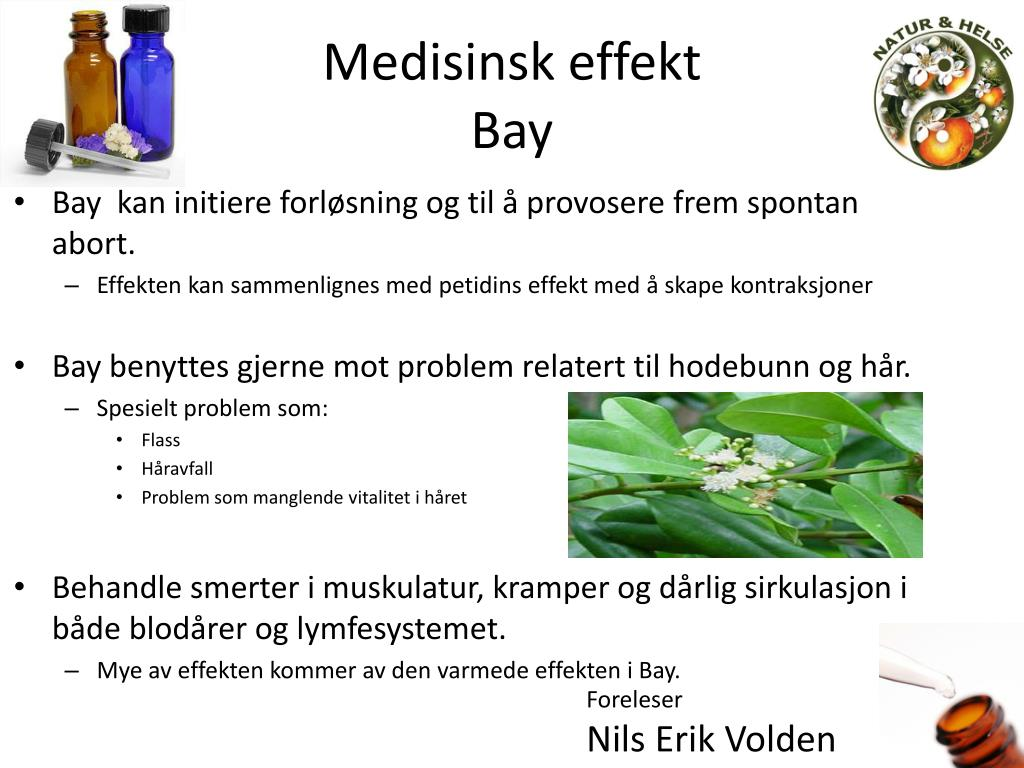 Medisinsk effekt
