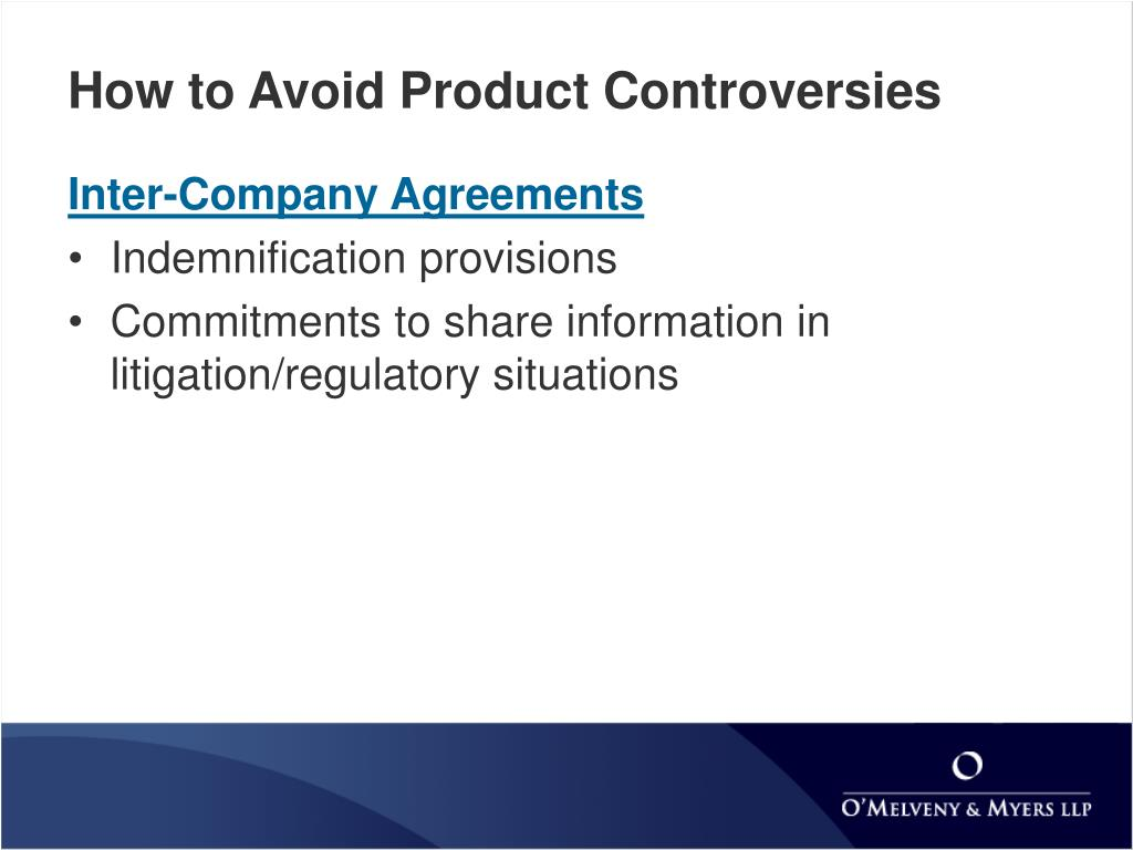 How to Avoid Product Controversies