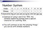 number system7