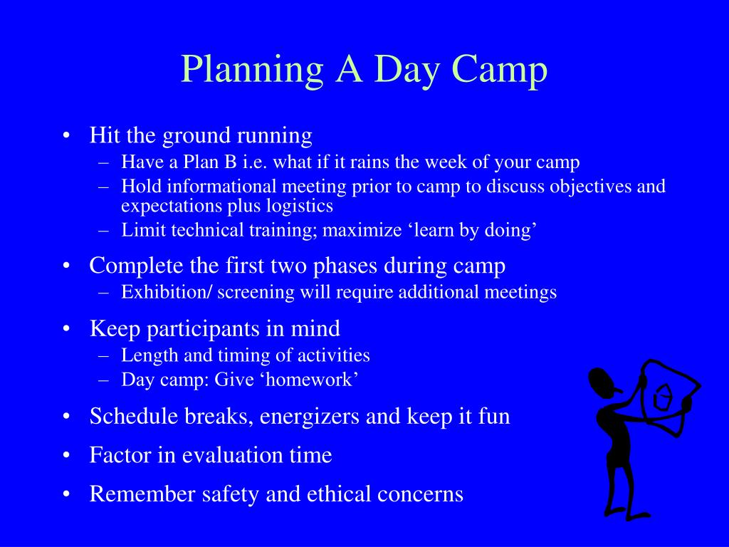 Planning A Day Camp