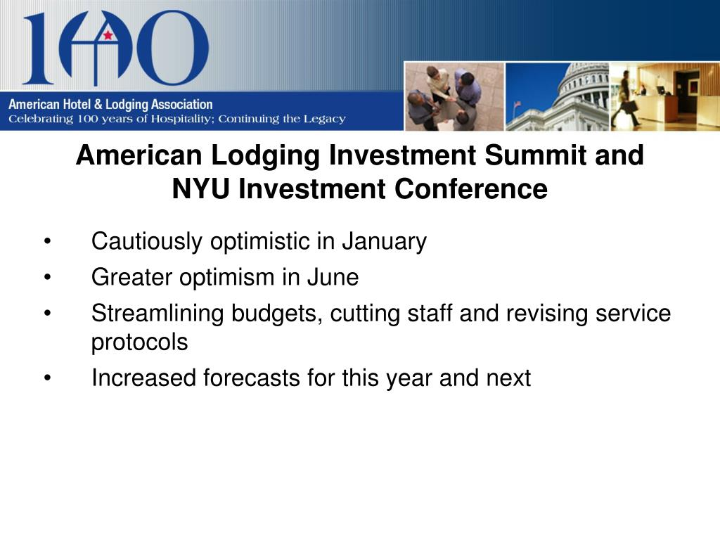 American Lodging Investment Summit and NYU Investment Conference