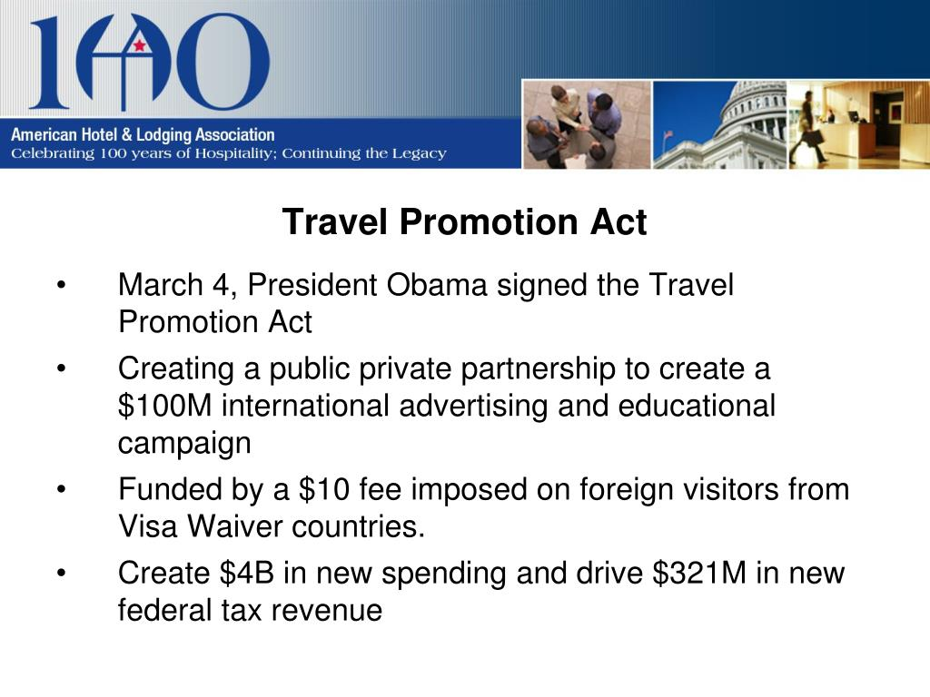 Travel Promotion Act