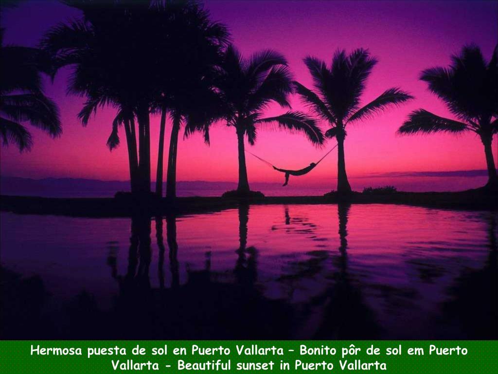 Hermosa puesta de sol en Puerto Vallarta – Bonito pôr de sol em Puerto Vallarta - Beautiful sunset in Puerto Vallarta