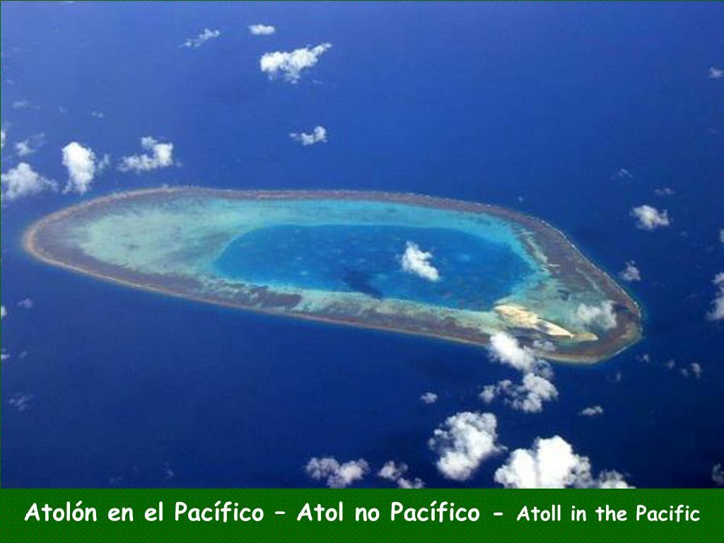 Atolón en el Pacífico – Atol no Pacífico -
