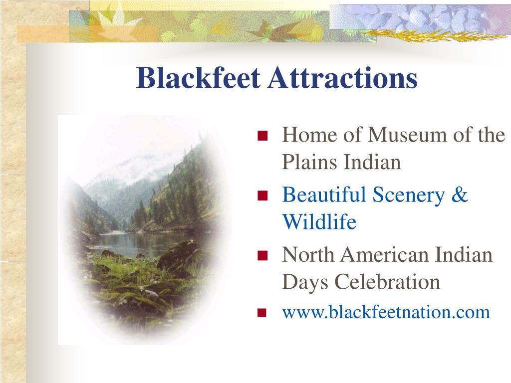 Blackfeet Attractions