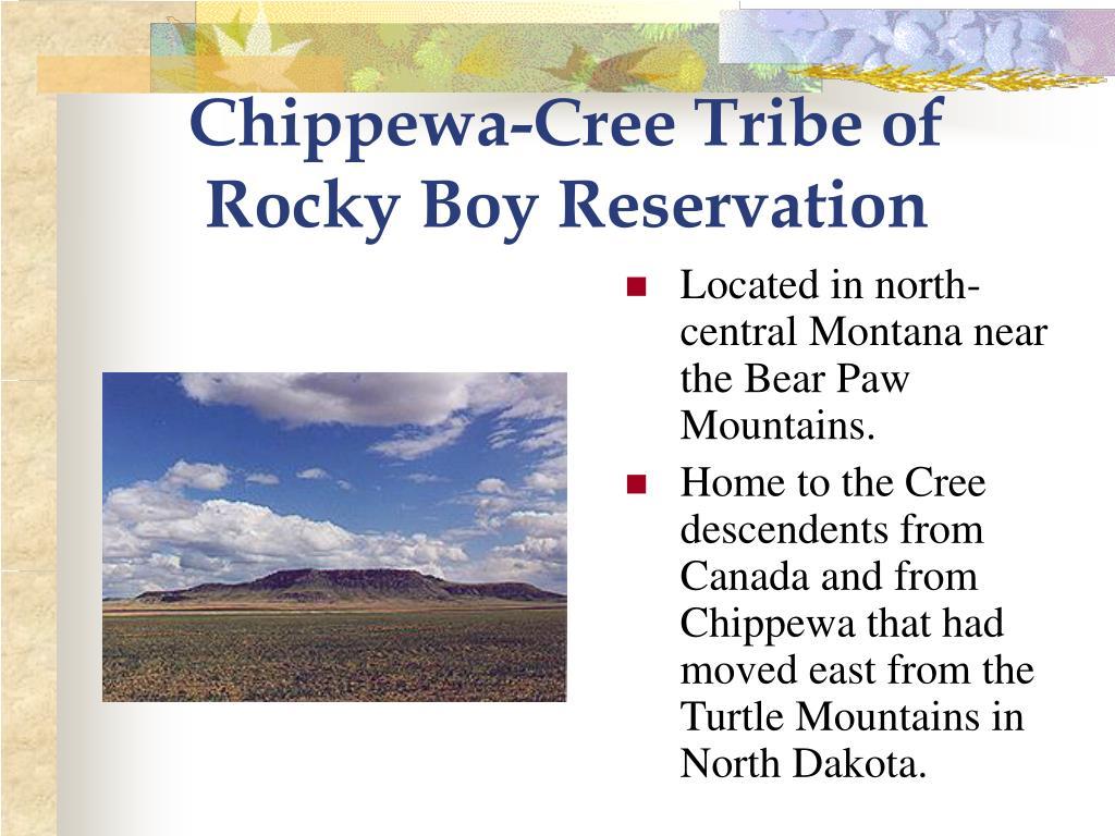Chippewa-Cree Tribe of Rocky Boy Reservation