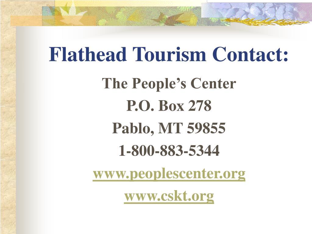 Flathead Tourism Contact: