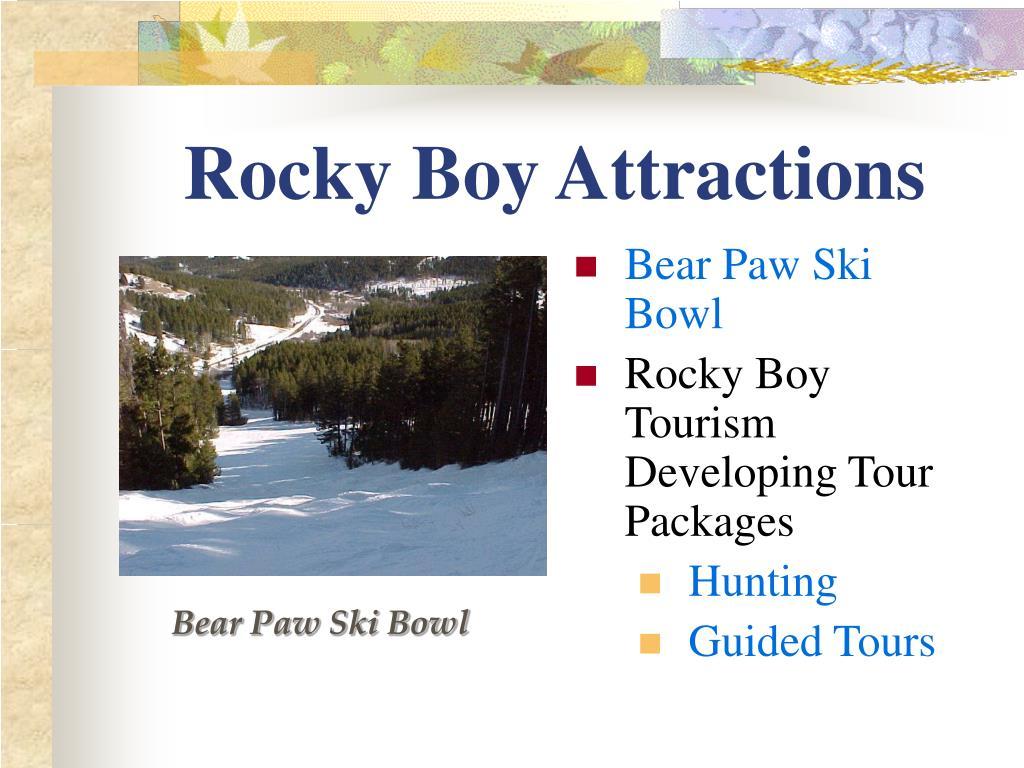 Rocky Boy Attractions