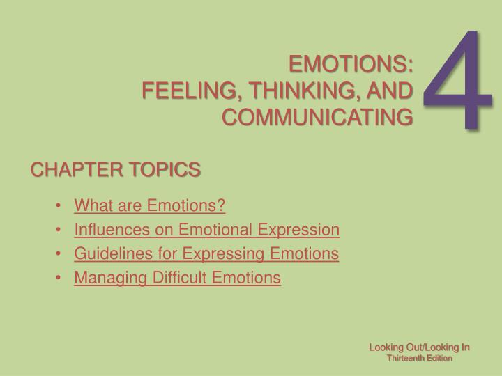 Emotions feeling thinking and communicating l.jpg