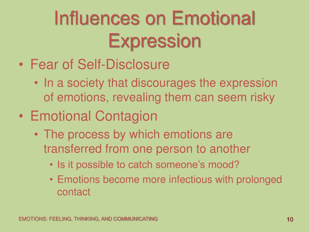 Influences on Emotional Expression