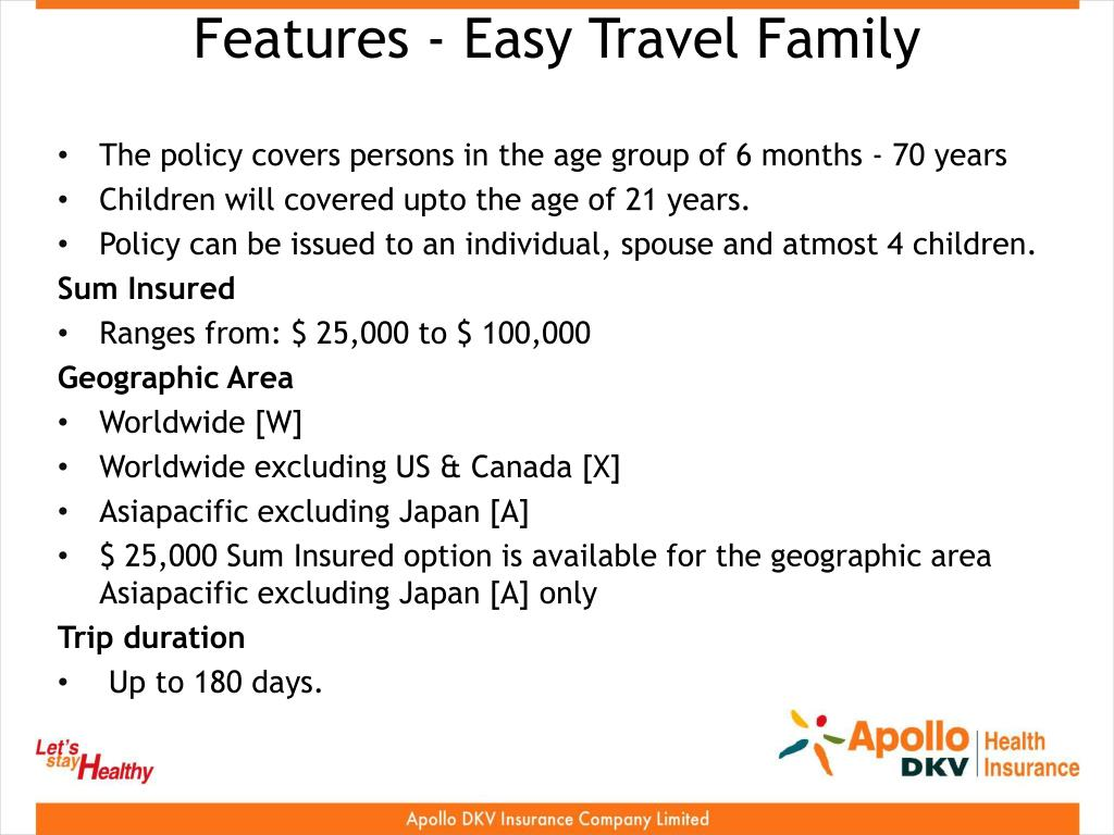 Features - Easy Travel Family