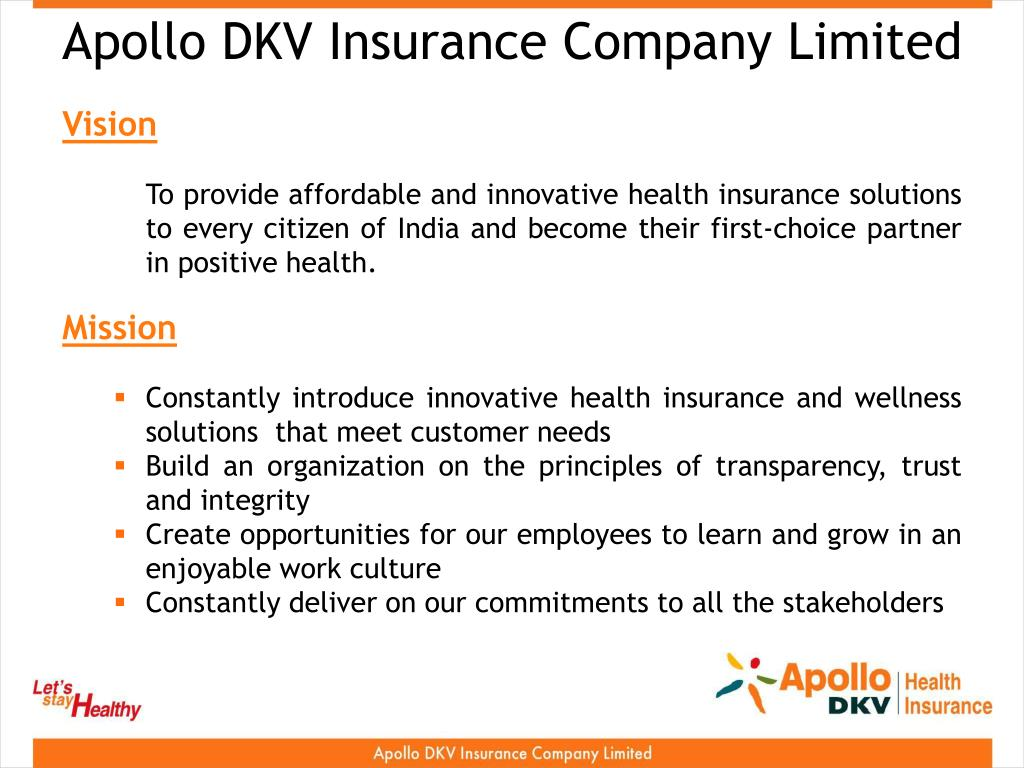 Apollo DKV Insurance Company Limited