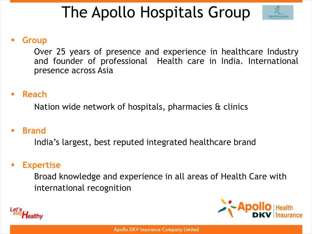 The Apollo Hospitals Group