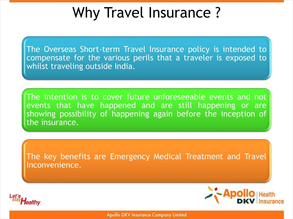 Why Travel Insurance ?