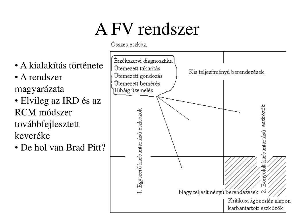 A FV rendszer