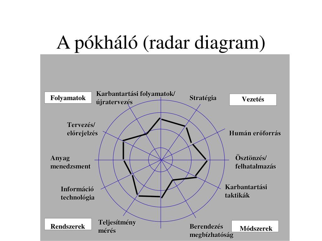 A pókháló (radar diagram)