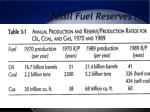 fossil fuel reserves 9